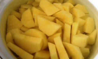 картофельное пюре с грибами фото