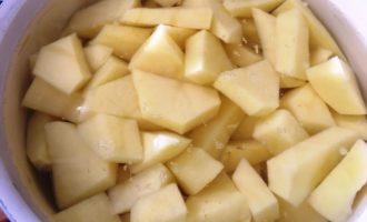 картофельное пюре с зеленым луком фото