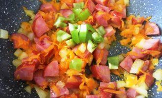 картофельный суп с колбасой с фото