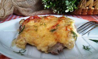 мясо по - французски со свининой
