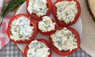 помидоры с сыром и чесноком пошаговый рецепт