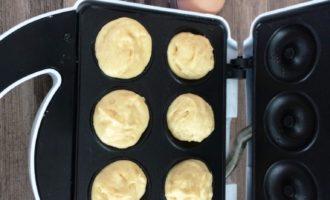 пончики в вафельнице пошаговый рецепт