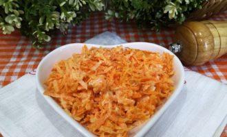 салат из сырой моркови пошагово