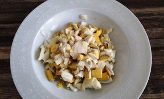 салат оливье классический с колбасой пошаговый