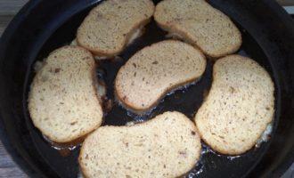 сладкие гренки на сковороде рецепт с фото