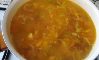 суп с колбасой пошагово