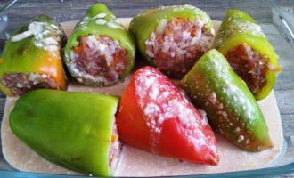 фаршированные перцы рецепт классический пошаговый рецепт