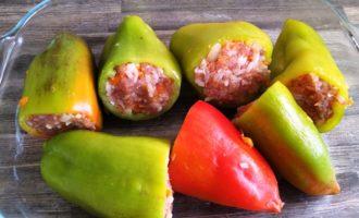 фаршированные перцы рецепт классический пошаговый