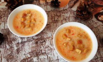 Сырный куриный суп с плавленным сыром
