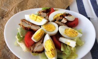 классический салат Цезарь рецепт с фото