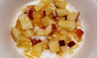 овсяная каша с яблоком без сахара