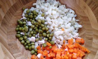 оливье с курицей классический рецепт с фото