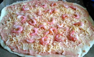 пицца с креветками и ананасами пошагово с фото