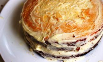 торт с ананасами пошаговый с фото