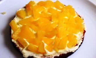 торт с ананасами пошаговый