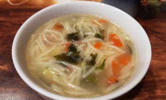 Суп с вермишелью без зажарки