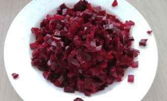 винегрет с маринованным луком рецепт с фото