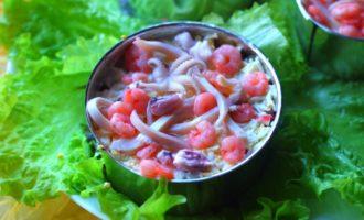вкусный морской салат пошагово с фото