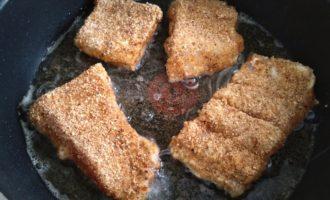 жареная рыба в сухарях пошаговый