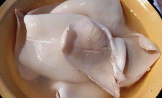 как делать кальмаровый салат