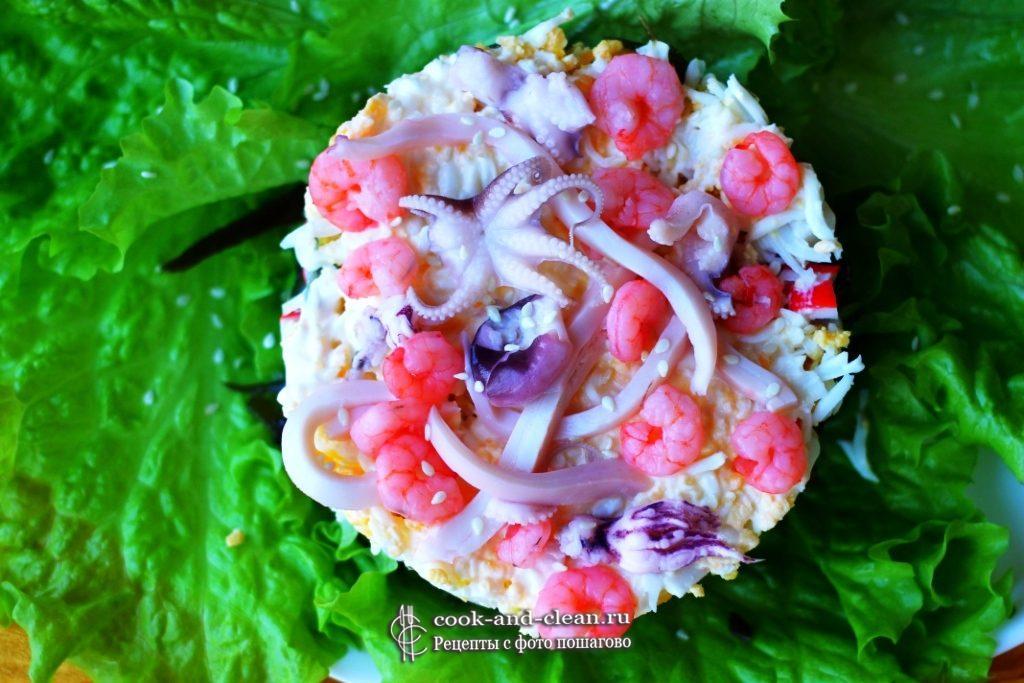 как приготовить вкусный морской салат