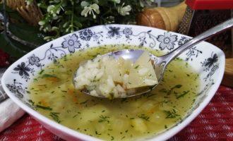 как приготовить суп рисовый с картофелем