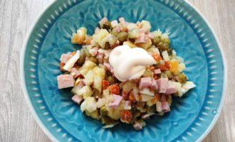 классический зимний салат Оливье рецепт пошаговый