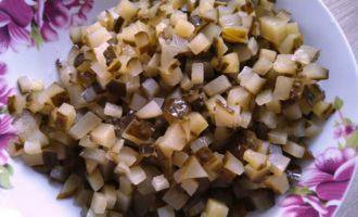 классический зимний салат Оливье с фото