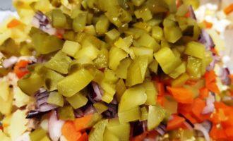 оливье со свининой рецепт с фото