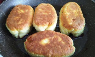 пирожки с вареньем на сковороде пошаговый