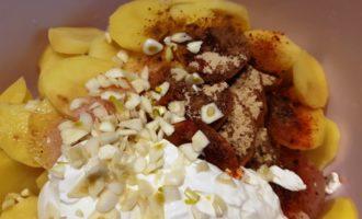 приготовление голени в духовке с картошкой