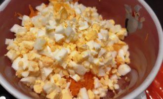 рецепт салата яйцо морковь майонез