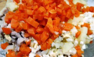 салат оливье со свининой рецепт