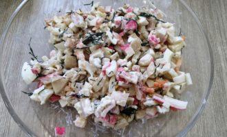 салат с перепелиными яйцами и креветками пошаговый рецепт