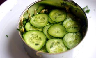 слоеный салат с кальмарами рецепт с фото