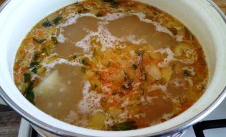 суп рисовый с картофелем пошагово