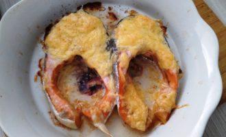 форель с сыром в духовке пошагово