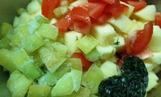 цукини тушеные с овощами