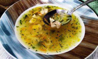 Вкусный куриный суп с вермишелью и картошкой пошаговый рецепт