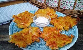 Драники картофельные с колбасой
