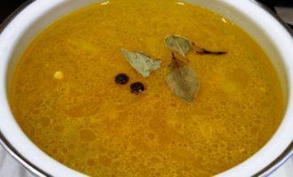 Куриный суп с вермишелью и зажаркой пошагово