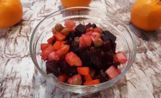 Салат винегрет без капусты
