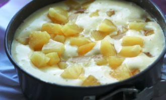 бисквит с ананасами пошаговый рецепт