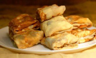 блинчики с сыром пошаговый рецепт