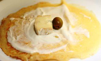 Блинчики с сыром