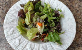 вегетарианский салат Цезарь рецепт
