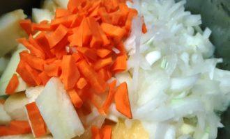 вкусное овощное рагу с курицей