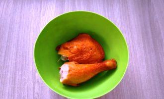 гороховый суп с окорочком фото