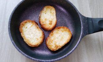 гренки из батона с яйцом сладкие пошагово