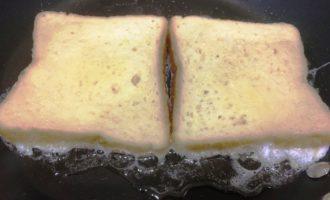 гренки с молоком пошагово